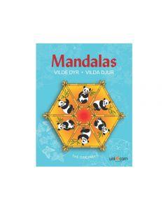 Målarbok Mandalas Vilda Djur