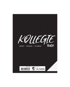 Kollegieblock A5 70g 70 blad rutat