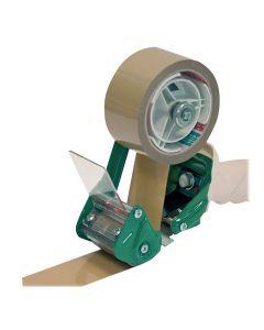 Tejphållare packtejp 38-50mm vit/grön