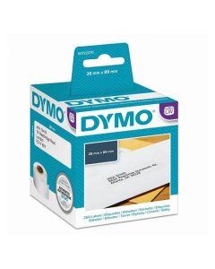 Etikett DYMO universal 89x28mm 260/FP