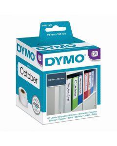 Etikett DYMO pärm 190x59mm 110/FP