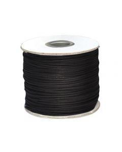Halsbandssnodd läder svart 1,5mmx100m