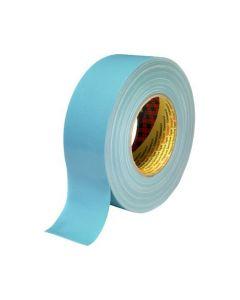 Tejp textil plastbelagd 50mx50mm blå