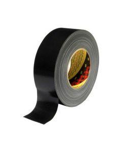 Tejp textil plastbelagd 50mx50mm svart