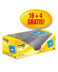 POST-IT Notes Value Pack 76x76mm 20/fp