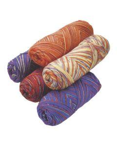 Regnbågsgarn 5 färger