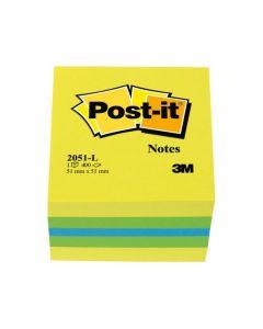Notes POST-IT Minikub 51x51mm lemon