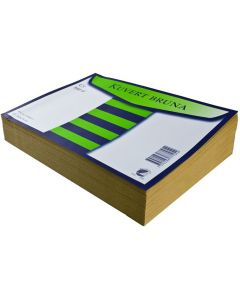Kuvert konsument fp C5 brun 100/FP