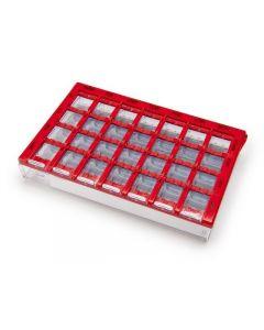 Dosett medi röd 155x102x25mm