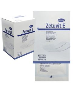 Abs.förb. ZETUVIT E steril 10x10cm 25/FP