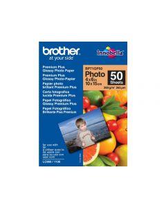 Fotopapper BROTHER BP71 10x15cm 260g 50/FP