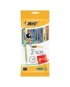Stiftpenna BIC Combos 0,7mm 8+2 st gratis