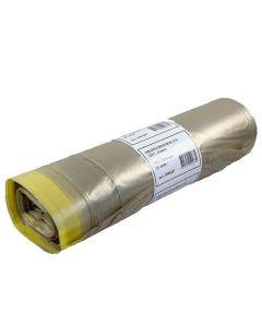 Plastsäck LD Drawstring 125 liter tran 25/RL