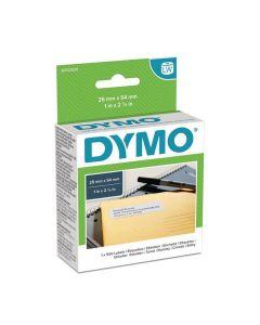 Etikett DYMO Retur 25x54 mm 500/FP