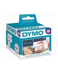 Etikett DYMO universal 70x54mm 320/FP