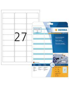 Etikett HERMA Namnrand 63,5x29,6mm 540/FP