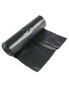 Plastsäck LD 125 liter 40my svart 10/RL