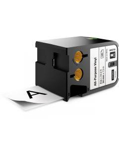 Tape DYMO XTL 54mm Sva på Vit 7m 1868755