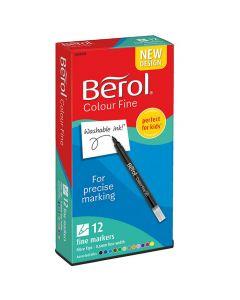 Fiberpenna BEROL Colorfine 12/FP