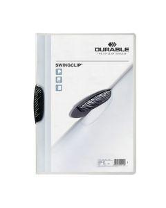 Klämmapp DURABLE Swingclip 2260 A4 sv.