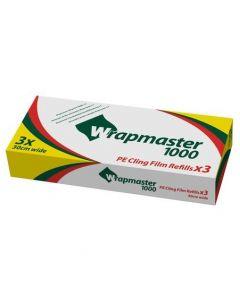 Plastfolie PE Wrapmaster 1000 30cmx100m