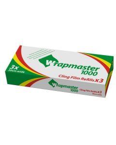 Plastfolie PVC Wrapmaster 1000 30cmx100m