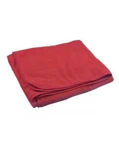 Frottéfilt röd 90x135cm