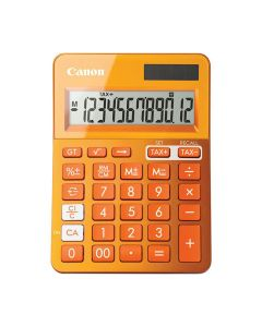 Miniräknare CANON LS-123K Orange