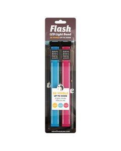 Flash LED Light Band rosa/blå 2/FP