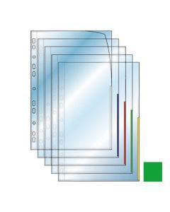 Plastficka Signal A4 0,12mm grön