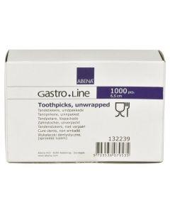 Tandpetare rund lösförpackade 1000/FP