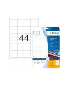 Etikett HERMA Slitsstark 48,3x25,4mm 1100/FP