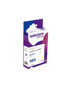 Bläckpatron WECARE BROTHER LC985 Gul