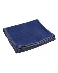 Frottéfilt blå 90x135cm