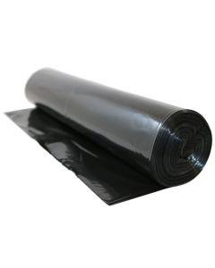 Plastsäck LLD 240 liter 70my svart 10/RL