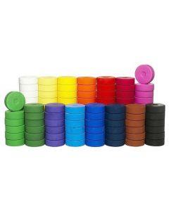 Färgblocksats 57mm 144/FP