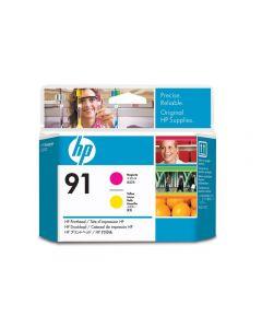 Skrivhuvud HP C9461A 91 Magenta/Gul