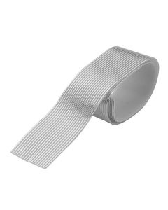 Dekorationsband Vax 8,5m silver