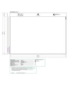 Dokumentficka C4 340x220mm 500/FP