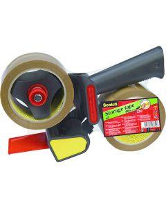 Packtejp SCOTCH PP Acryl med hållare 2/FP