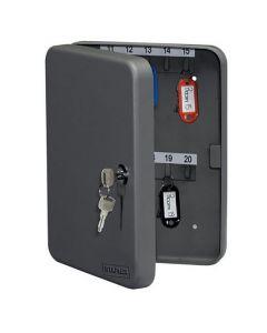 Nyckelskåp STAPLES 250x190x45mm grå 42ny