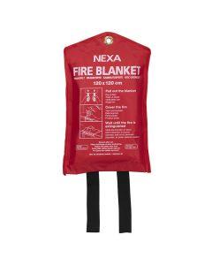 Brandfilt NEXA 120x120cm röd
