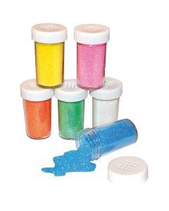 Glitter pastell 6 färger