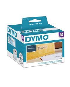 Etikett DYMO 89x36mm transparent 260/FP