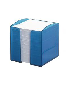 Blockkubshållare inkl block indblå