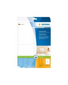 Etikett HERMA Adress 99,1x139mm 100/FP