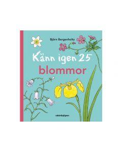 Bok Känn igen 25 blommor