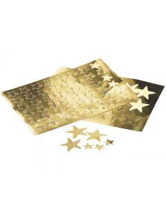Stickers stjärnor guld 13mm 288/FP