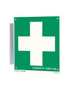 Hållare för Första Hjälpen-skylt