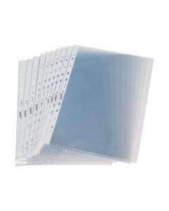 Plastficka STAPLES A4 0,05 präglad 100/FP